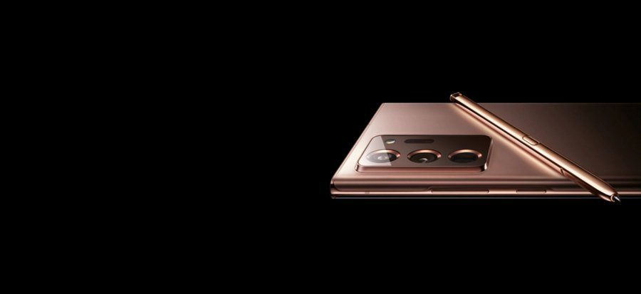 「Galaxy Note20 Ultra」の公式画像が誤って公開される
