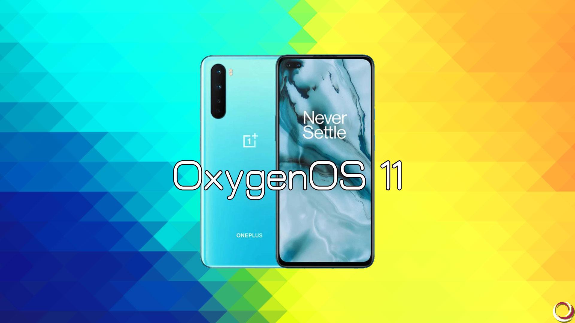「OnePlus Nord」向けに「Android 11」ベースの安定版「OxygenOS 11」がリリース
