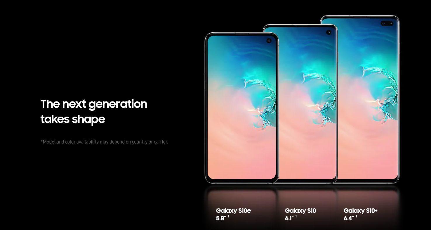 「Galaxy S10」シリーズのサイズや重さを過去モデルと比較してみた